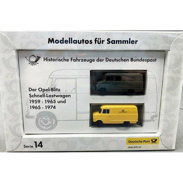 Brekina HO 06244 Opel Blitz SERIE 14 1959-1965  1965-1974 ny i original emballage