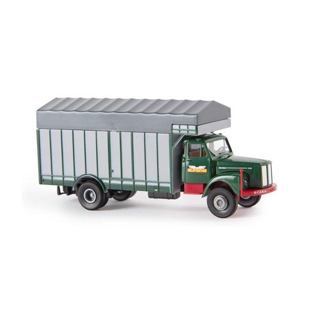 Brekina HO 85128 Scania L 110 Grossraumaufbau