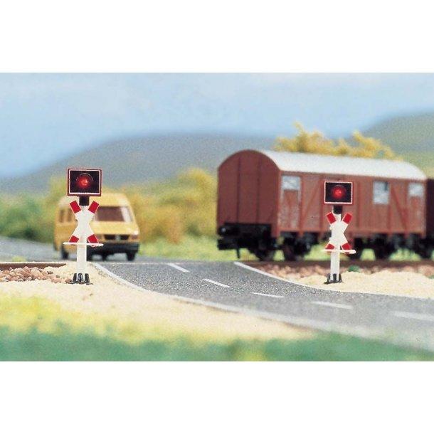 Busch 5949 spor N blinksæt til jernbane overskærin