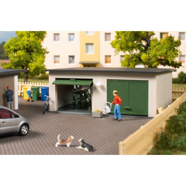 Auhagen HO 11456 dobbelt garage 86 x 74 x 32 mm