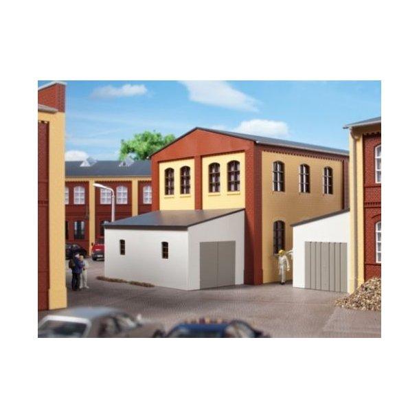 Auhagen HO 80105 Vedhæftet garage