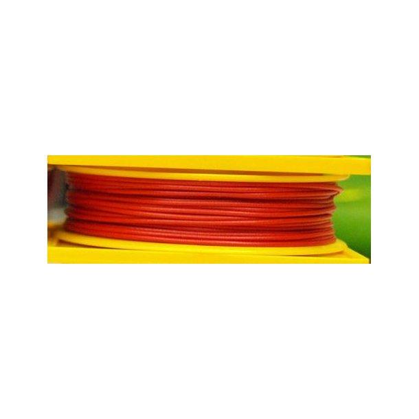 Brawa 3152 ledning rød 25 meter 0,14 mm