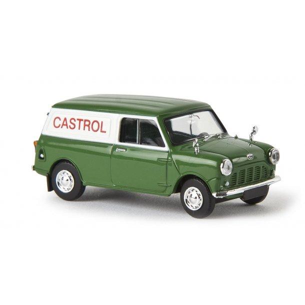 Brekina HO 15357 Austin Mini Van CASTROL