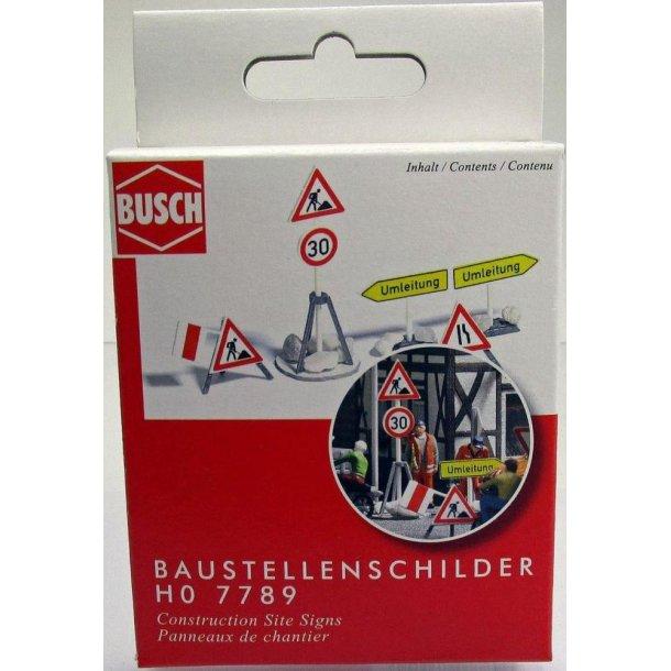 Busch HO 7789 vejarbejder skilte