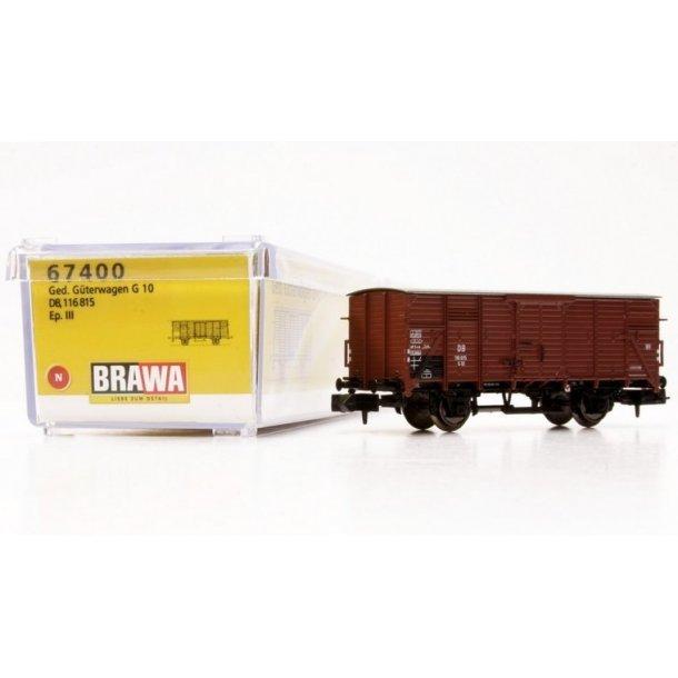 Brawa 67400 spor N DB godsvogn G 10