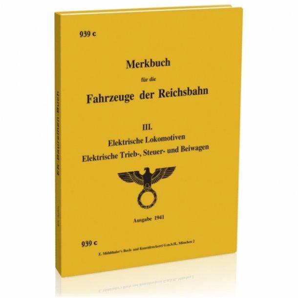 601 Genoptrykke memorandum til køretøjer af Reichs