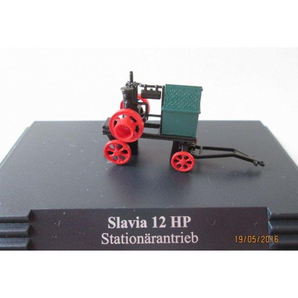Slavia 12 HP Stationärantrieb H0 Auto Modell 1:87 Busch 59903