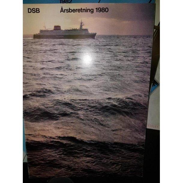 1980 DSB årsberetning 1980