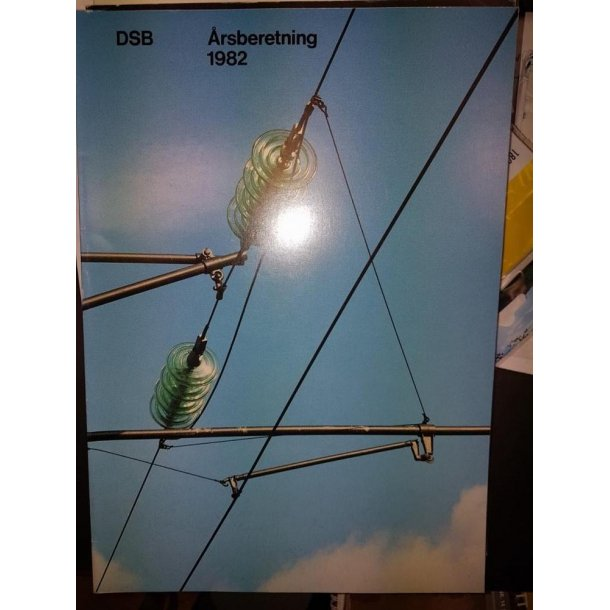 1982 DSB årsberetning 1982