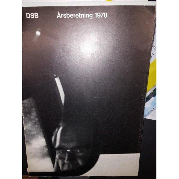1978 DSB årsberetning 1978