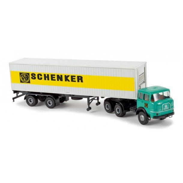 Brekina HO 84123 Krupp SF 380 med Container