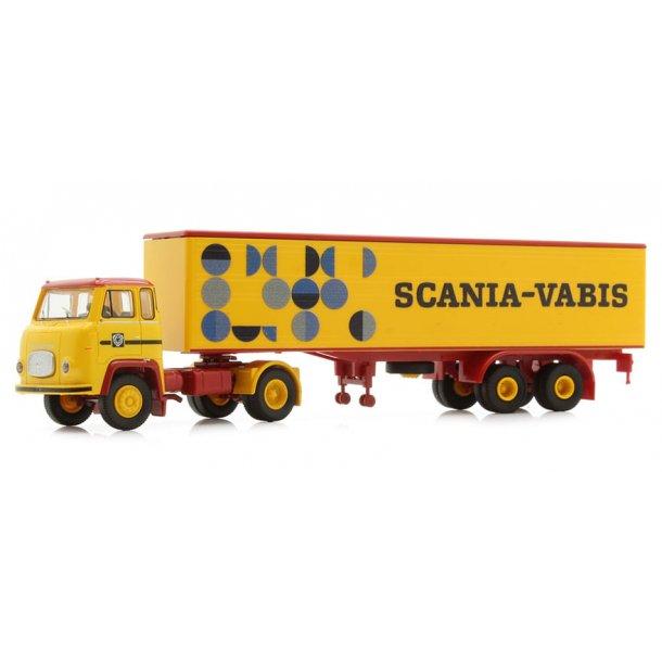 Brekina HO 85150 Scania-Vabis LB 76 med trailer