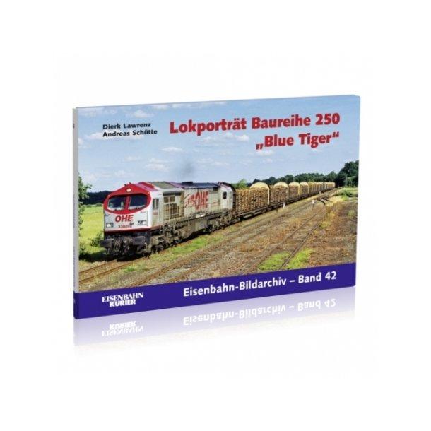 381 Lokporträt Baureihe 250 ''Blue Tiger''