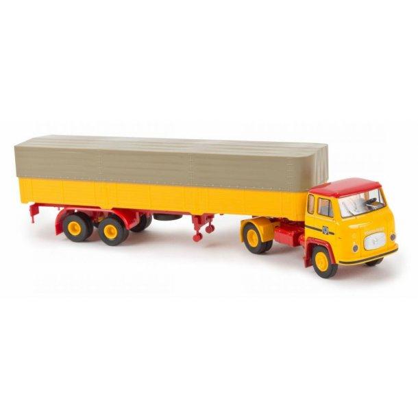 Brekina HO 85163 Scania-Vabis LB 76 med trailer