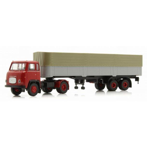 Brekina HO 85153 Scania LB 76 med trailer