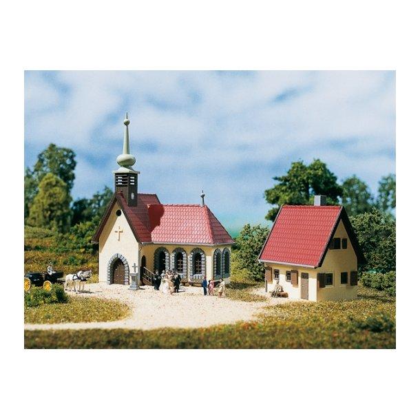 Auhagen spor N 14461 Landby kirke samt præstebolig