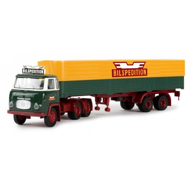 Brekina HO 85181 Scania LBS 76 med trailer