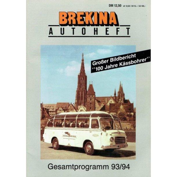 Brekina 93/94 autoheft brugt i ny stand