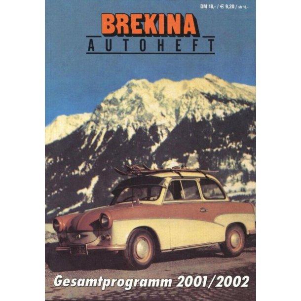 Brekina 2001/2002 autoheft brugt i ny stand