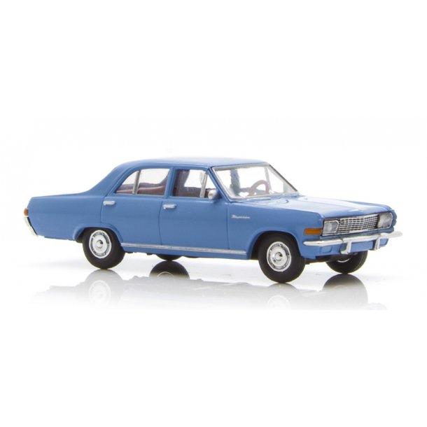 Brekina HO 20752 Opel Kapitän A horizont blå