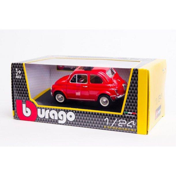 Burago 22099 Fiat 500L 1968 Red