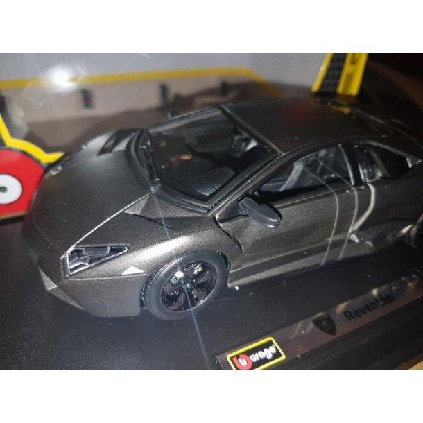 Burago 21041 Lamborghini Reventon mat sort