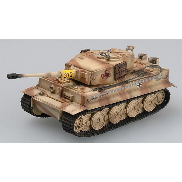 Easy Model 736220 Tiger I Late Type s. Pz. Abt. 50
