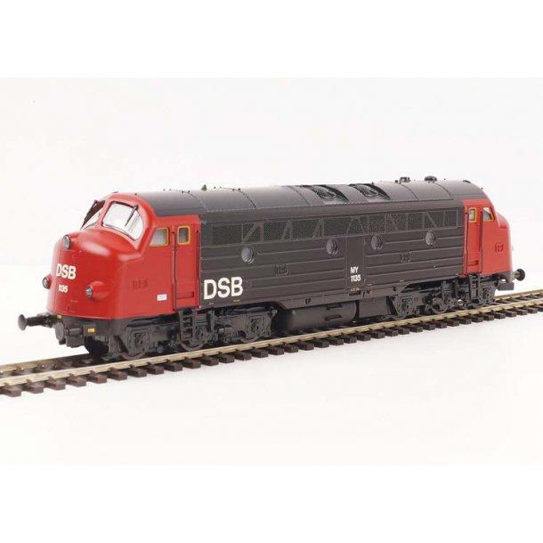 Heljan 44523 DSB diesellok MY 1135 med diesellyd