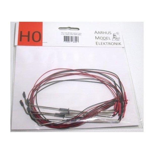 AME HO 0001 gadelampe 10,7 cm. Høj 5 stk. Pakke