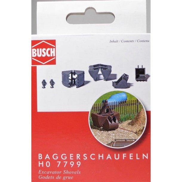Busch HO 7799 skovle til grave maskiner
