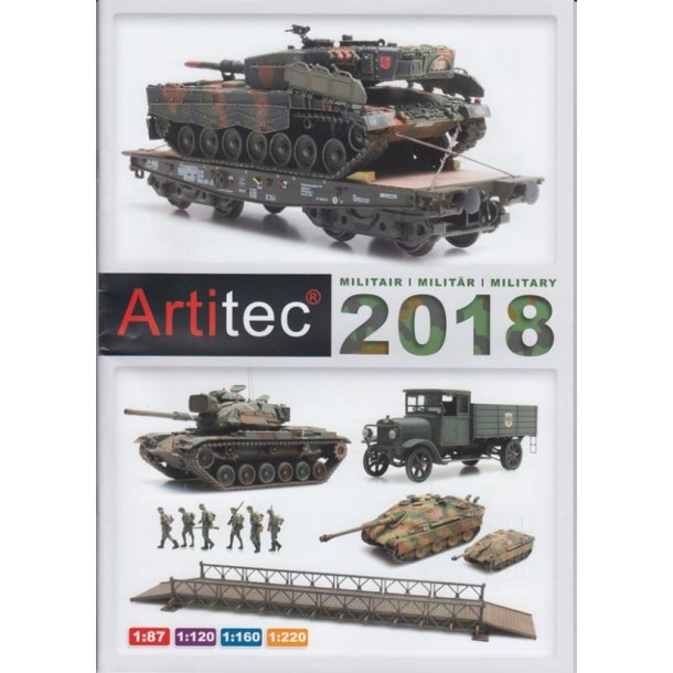 Artitec 013 Hoved katalog militær 2018