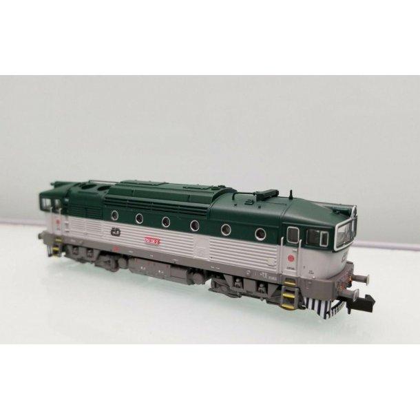Minitrix 16735 spor N CD diesellok serie 750