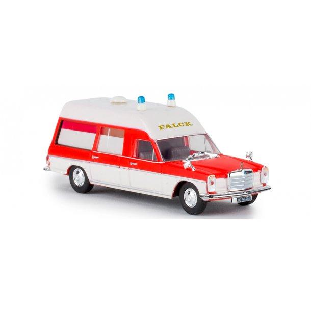 Brekina HO 91382 MB 200/8 KTM ambulance Falck