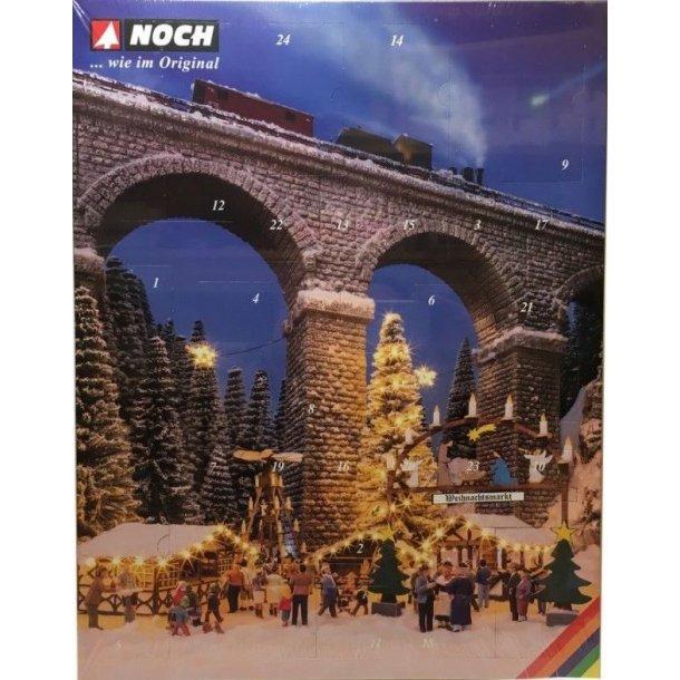 Noch HO 65590 Bastel-Adventskalender julekalender