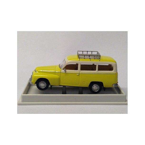 Brekina HO 29308 Volvo Duett Kombi gul