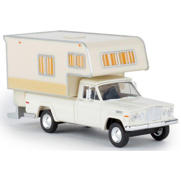 Brekina HO 19830 Jeep Gladiator autocamper