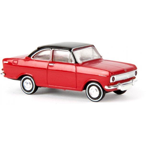 Brekina HO 20330 Opel Kadett A Coupé rød