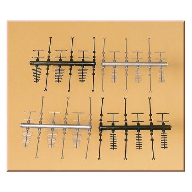Auhagen HO 42653 Tiberhørs sæt med tag antenner
