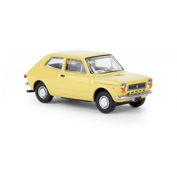 Brekina HO 22501 Fiat 127 beige fra Starline Nyhed 2019