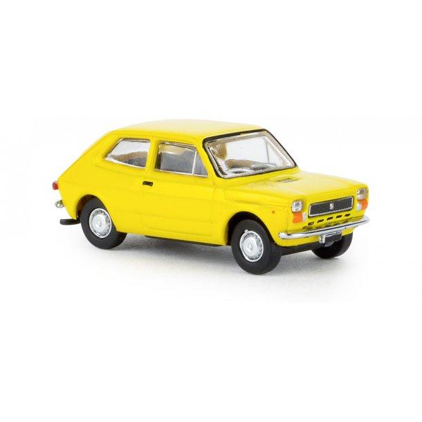 Brekina HO 22502 Fiat 127 fra Starline gul Nyhed 2019