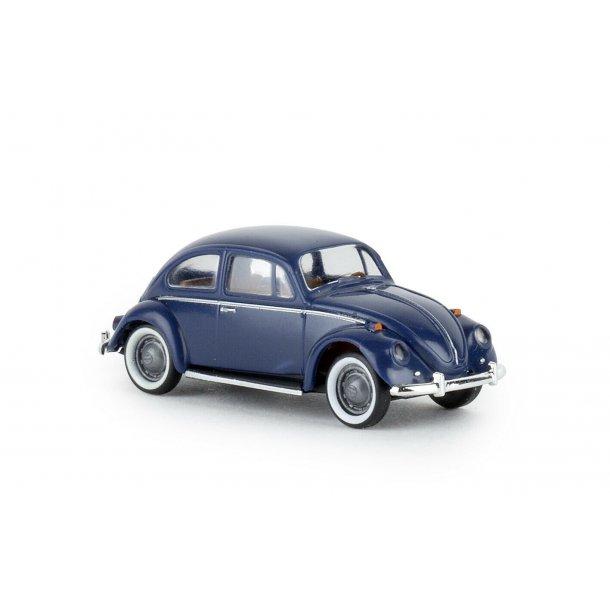 Brekina HO 25043 VW folkevogn mørkeblå.