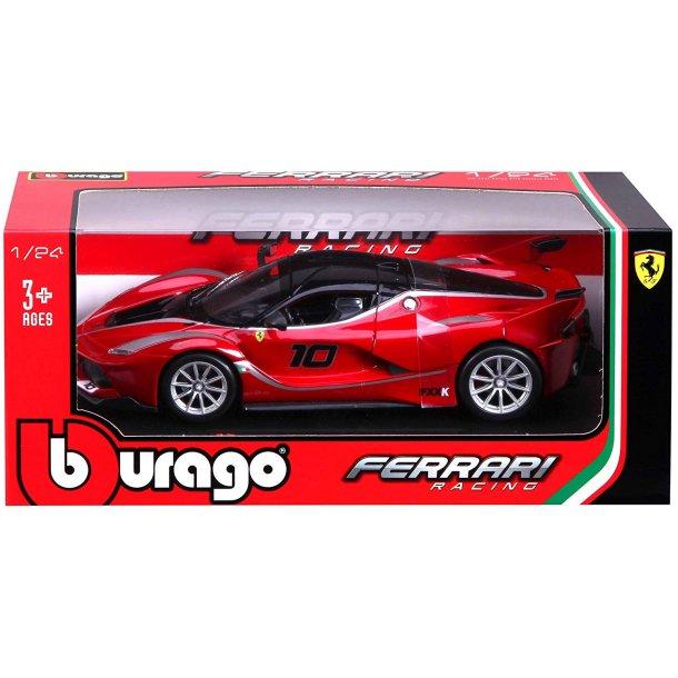 Burago 26301 Ferrari FXX K rød metal bygget Scala 1:24