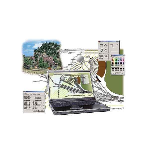 Busch 2810 til PC på DVD spor planlægningsprogram