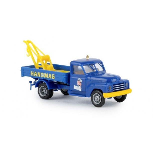 Brekina HO 37136 Hanomag L 28 kran lastbil
