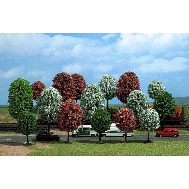 Busch 6584 spor TT/N  16 stk. Blomstrende træer 40 til 70 mm. Høj