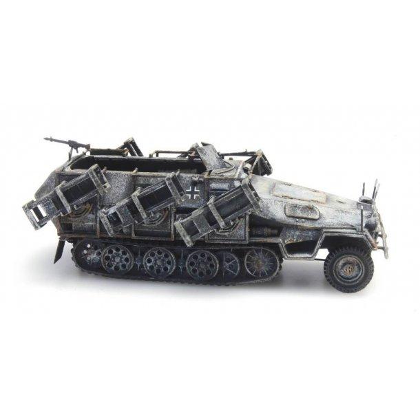 Artitec HO 387.403 SD. Kfz 251/1 II Wurfrahmen vinter færdig model
