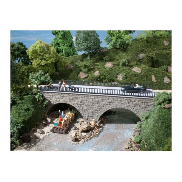 Auhagen HO 41589 Smal sten bro