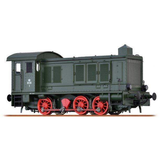 Brawa HO 41621 DSB diesellok nummer 1