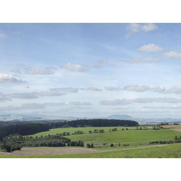 Auhagen HO/TT 42515 baggrund billed Erzgebirge 3 samlet længde 279 cm.