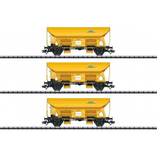 Trix HO 24168 DBG selvtømmer vognsæt Typ Fcs. Deutsche Bahn Gleisbau GmbH